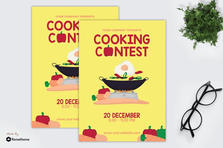 Thumbnail for Cooking Contest - Flyer GR