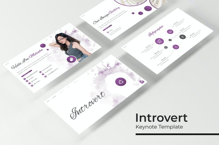 Thumbnail for Introvert - Keynote Template