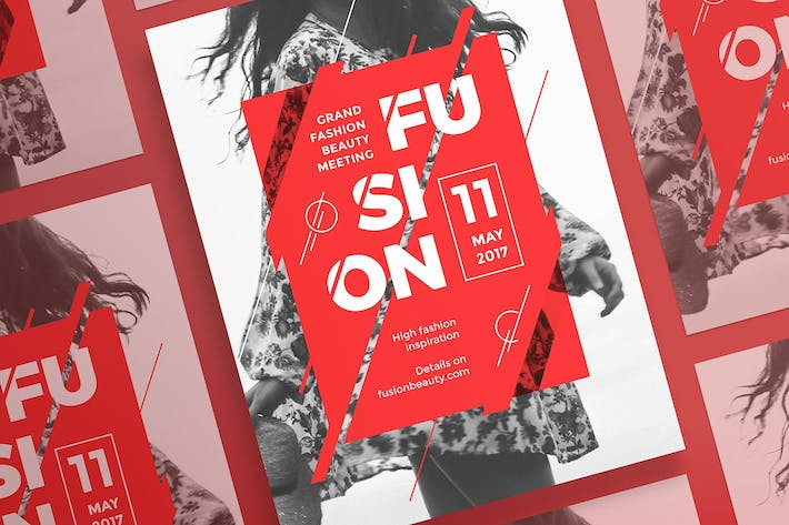 Thumbnail for Fashion Meeting Poster Template