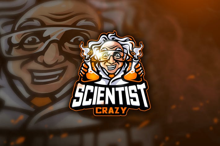 Thumbnail for Scientist - Mascot & Esport Logo