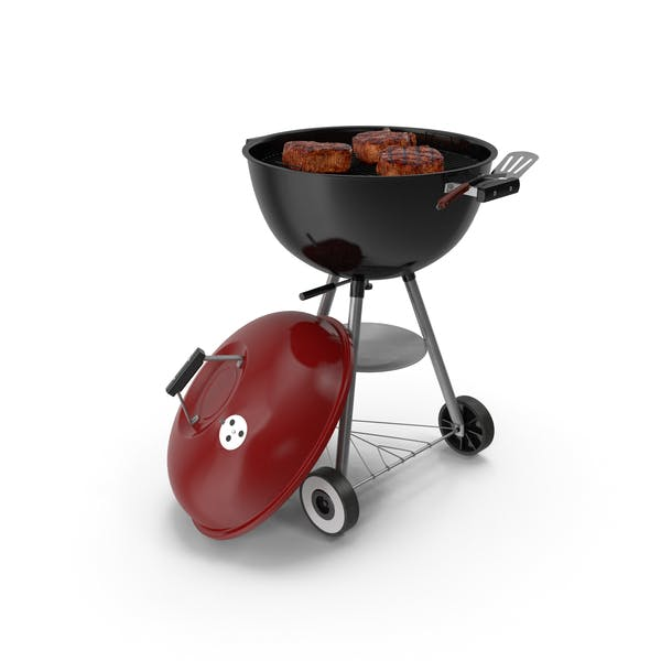 Cover Image for Kettle Grill with Meat
