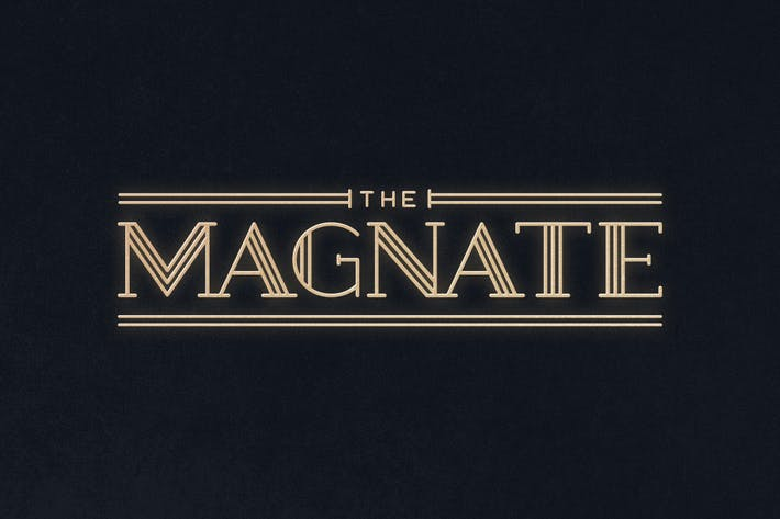 Thumbnail for Magnate Typeface