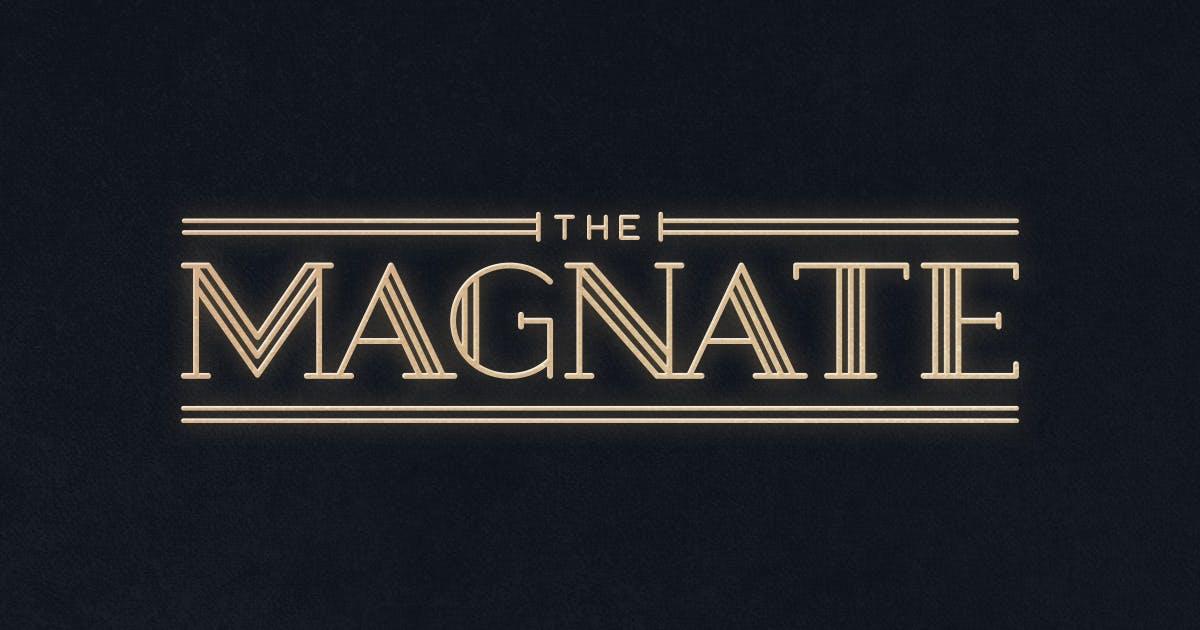 Download Magnate Typeface by MehmetRehaTugcu