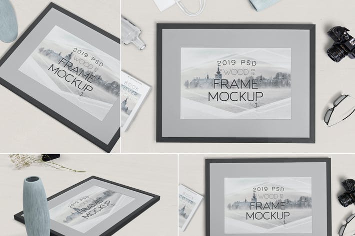 Thumbnail for Foto-Frame-Mock-ups