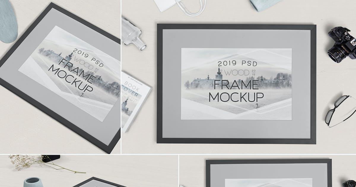 Download Photography Frame Mockups by zippypixels
