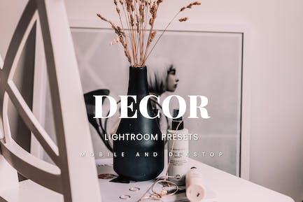 Dekor Lightroom Presets Dekstop and Mobile