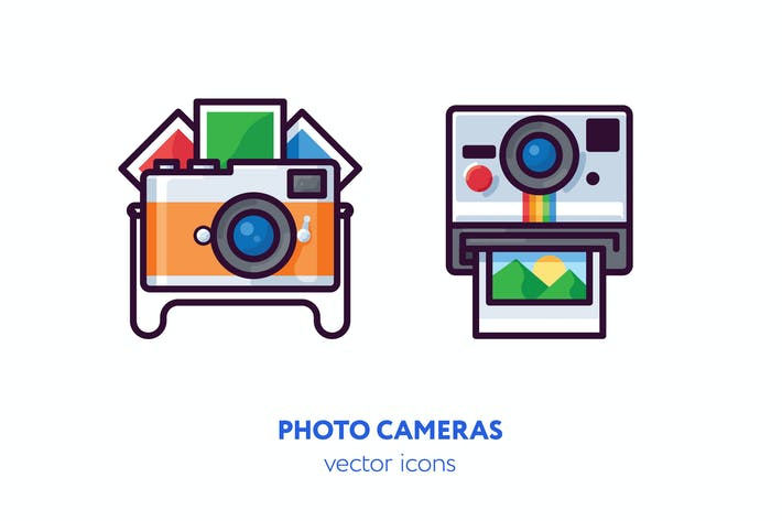 Thumbnail for Photo camera icons