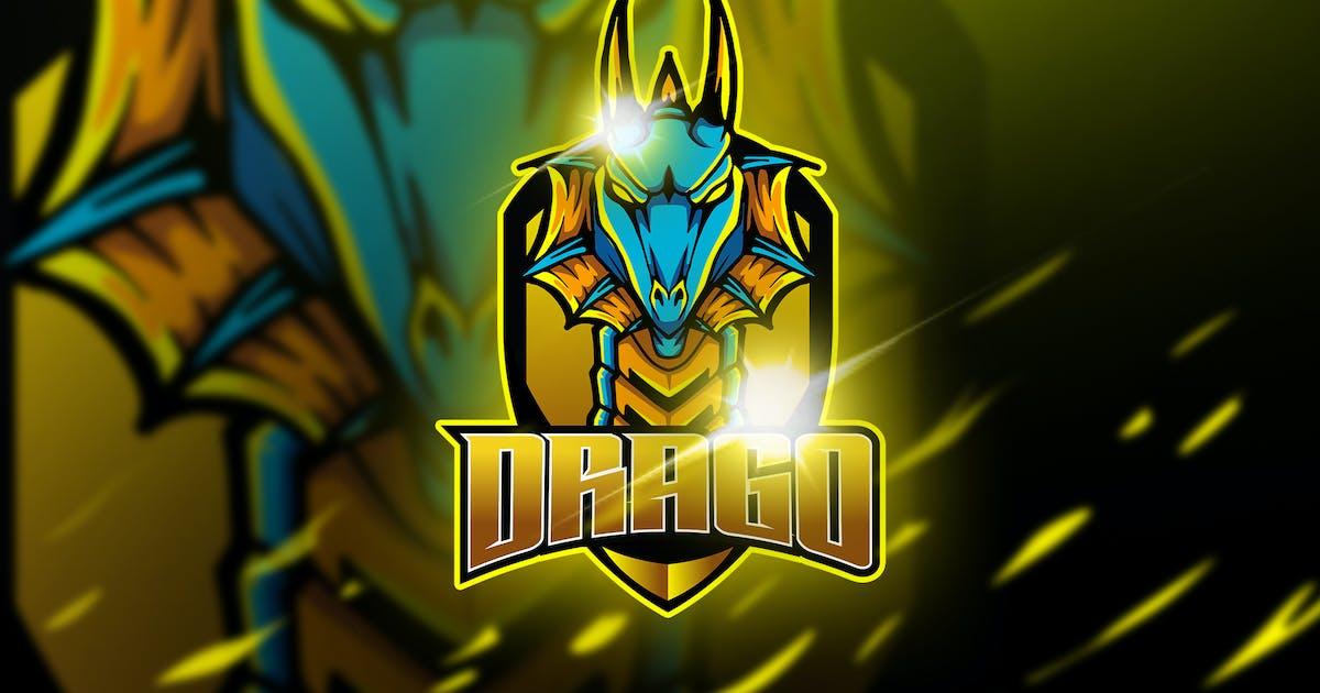 Download Drago Green - Mascot & Esport Logo by aqrstudio