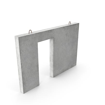 Vorgefertigte Betonfertigteilplatte