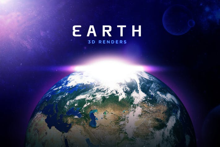 Thumbnail for Beautiful 3D Earth Renders