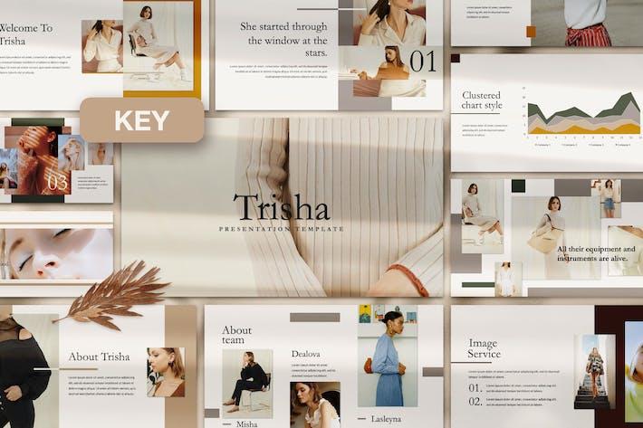 Thumbnail for Trisha Keynote Template