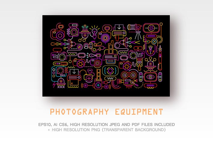 Thumbnail for 3 options of Photography Equipment artwork