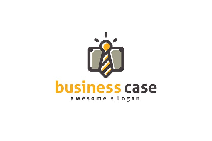 Thumbnail for Business Case Logo Template