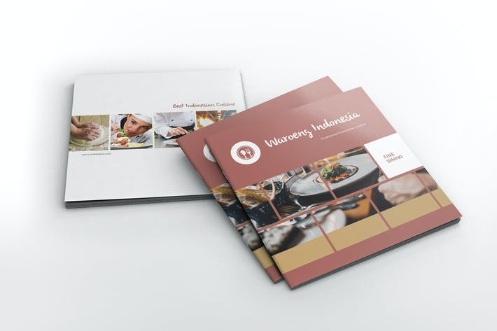 Restaurant Square Brochure