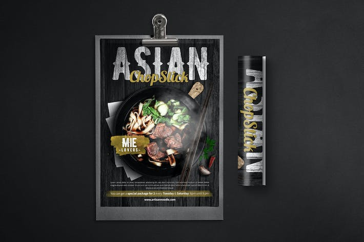 Thumbnail for ASIAN NOODLE FLYER