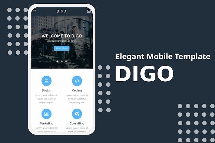 Digo - Modèle mobile élégant