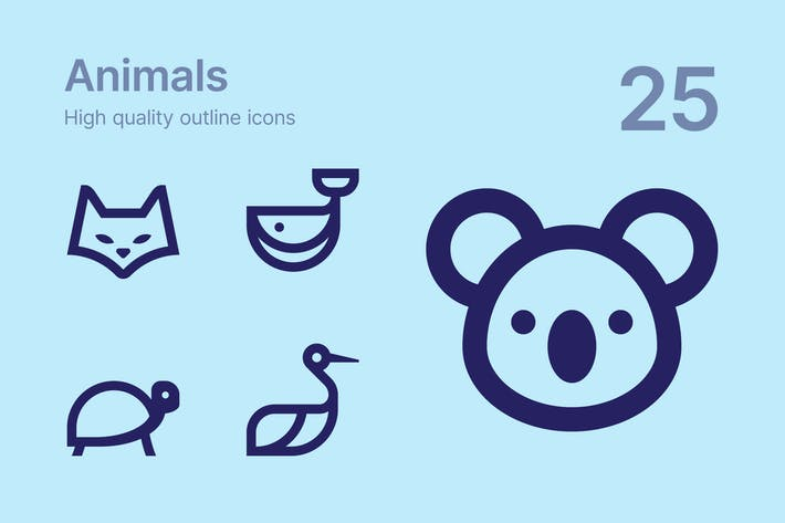 Thumbnail for Animals icons