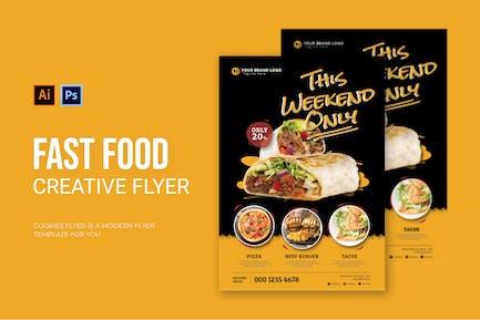 Fast Food - Flyer
