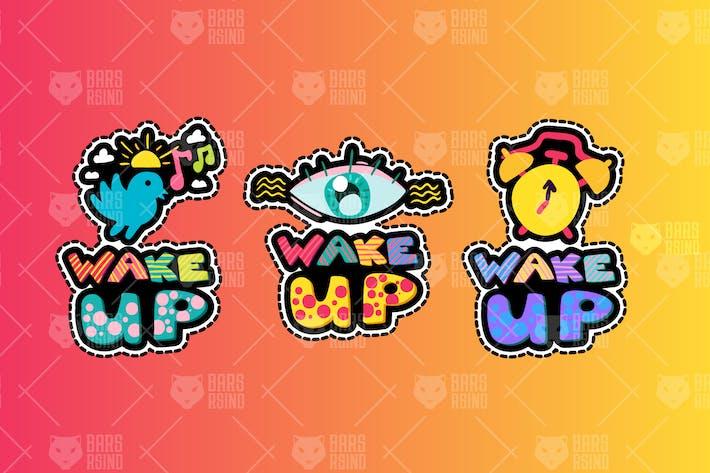 Thumbnail for Awakening Good Morning Stickers