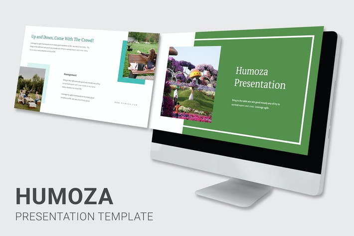 Humoza - Pitch Deck Google Slides