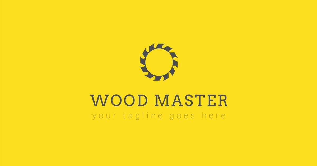 Download Wood Master - Logo Template by ThemeWisdom