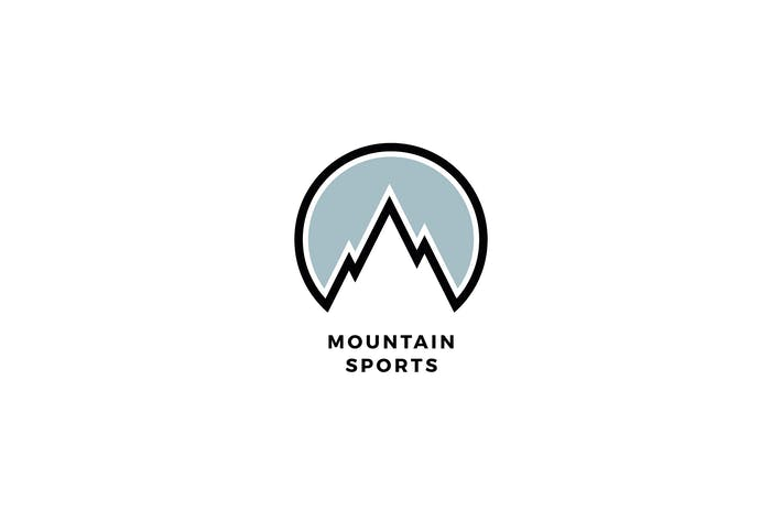 Thumbnail for Mountain Sports Logo Template