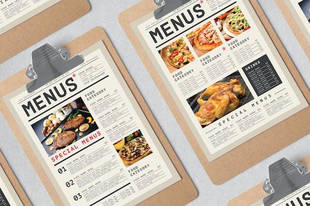 Simple Food Menus - product preview 0