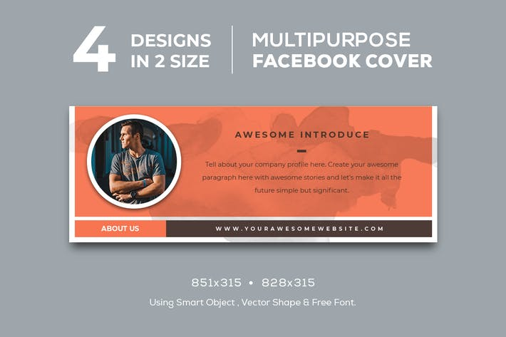 Cover Image For Multipurpose Facebook Cover