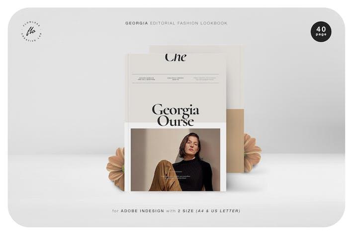 Thumbnail for Georgia Editorial Fashion Lookbook