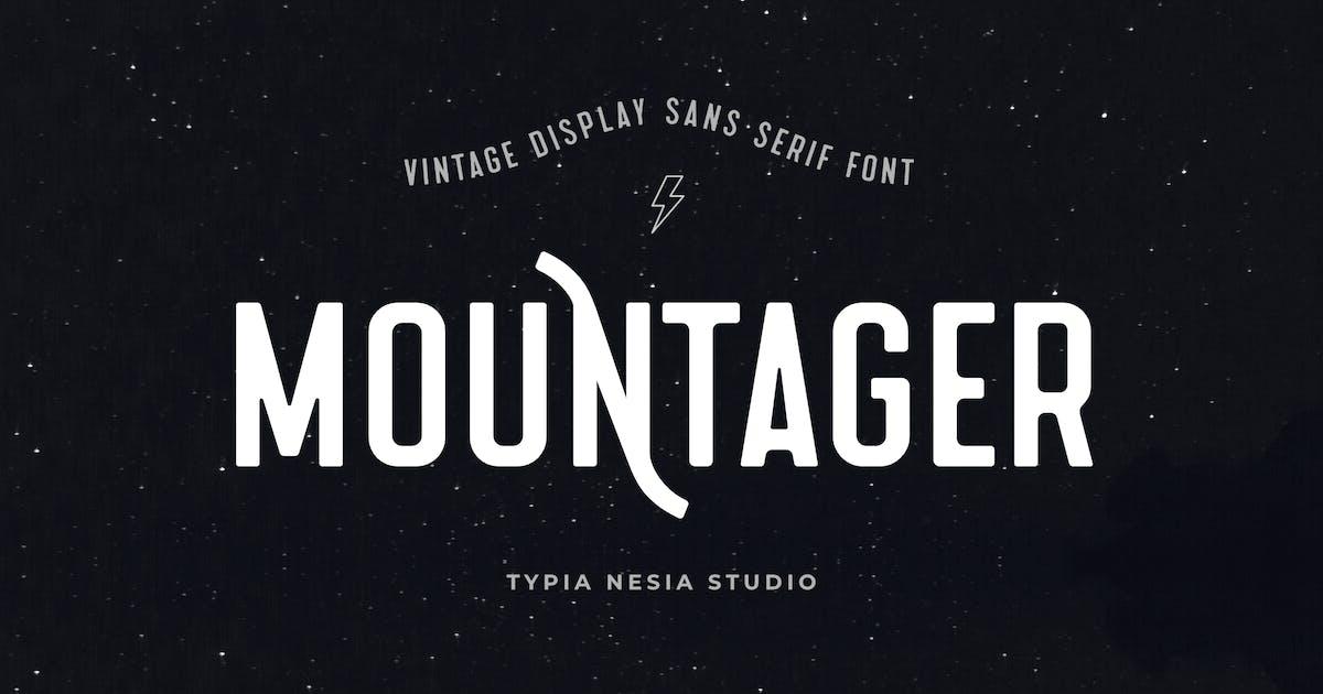 Download Mountager - Vintage Adventure Sans Serif by yipianesia