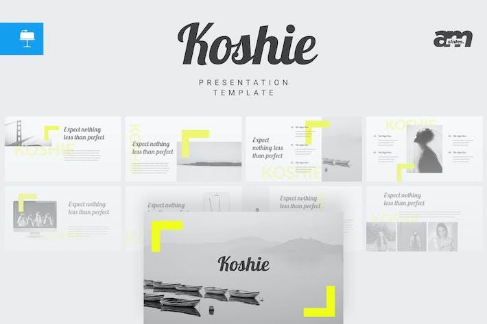 Thumbnail for Koshie - Keynote Template