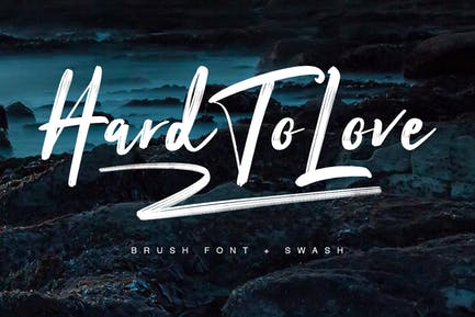 Hard To Love Typeface