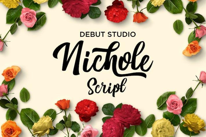 Thumbnail for Nichole Script