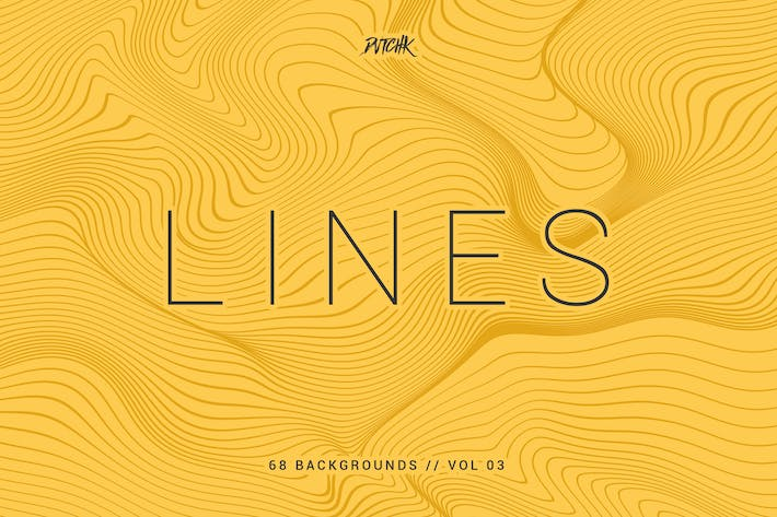 Thumbnail for Lines | Abstract Wavy Backgrounds | Vol. 03