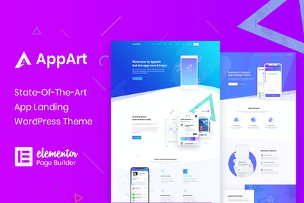 AppArt - Creative WordPress Theme For Apps, Saas &