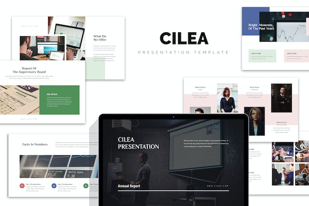 Cilea : Annual Report Powerpoint