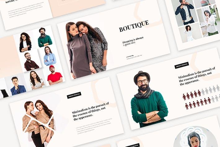 Boutique - Modern Fashion Google Slides Templates