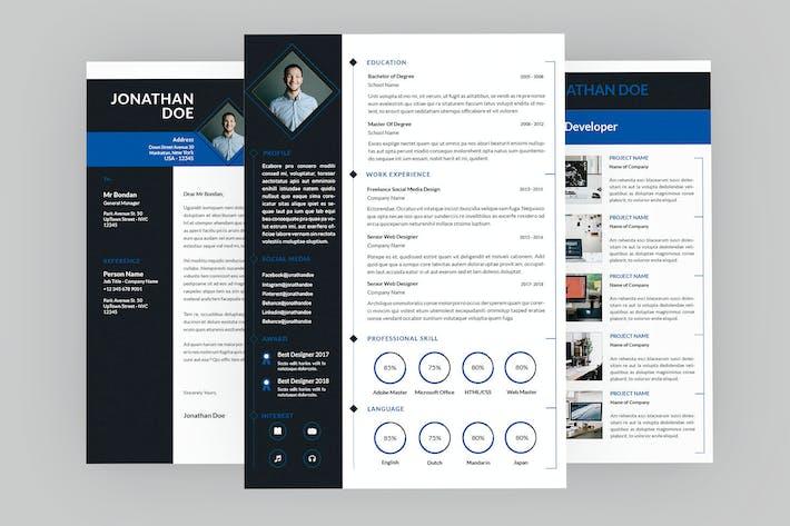 Thumbnail for Lofty Resume Designer