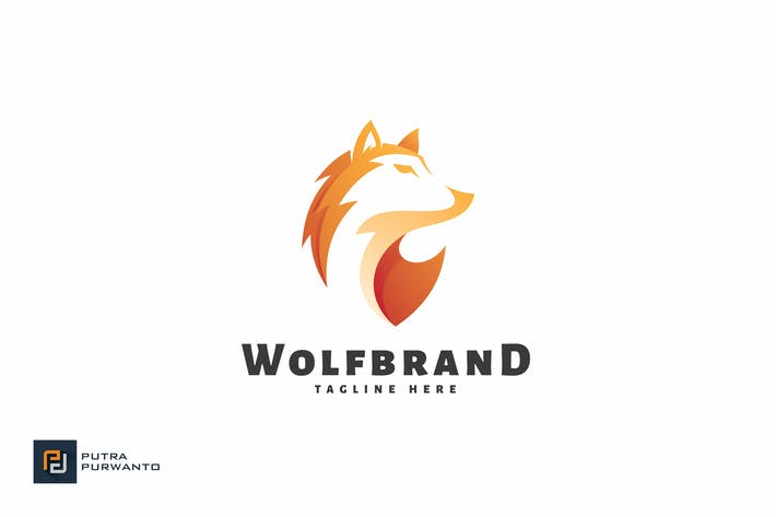 Thumbnail for Wolf Brand - Logo Template