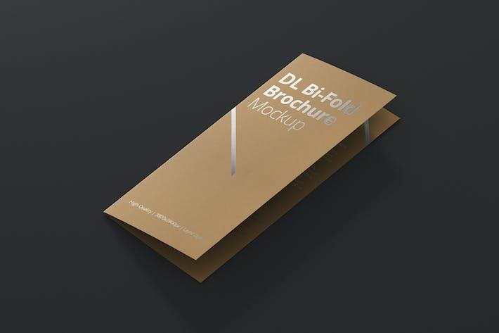 Thumbnail for DL Bi-Fold Brochure Mock-Up