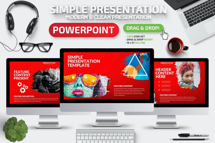 Thumbnail for Simple Powerpoint Presentation