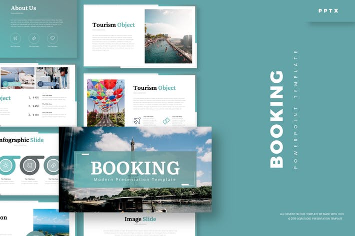 Thumbnail for Booking - Powerpoint Template