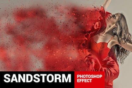 Dustum - Sandstorm Photoshop Acción