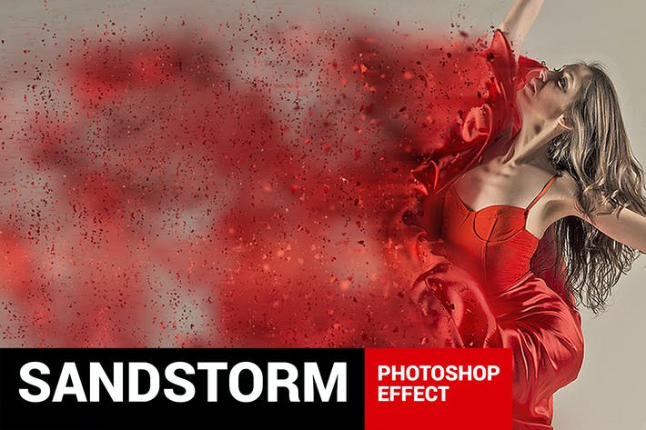 Thumbnail for Dustum - Sandstorm Photoshop Action