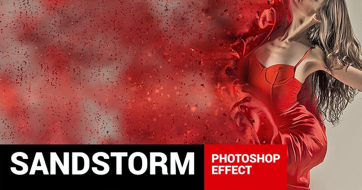 Download Dustum - Sandstorm Photoshop Action by profactions