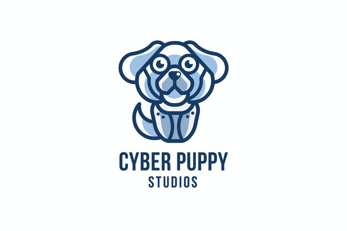Thumbnail for Cyber Puppy Studios Logo Template