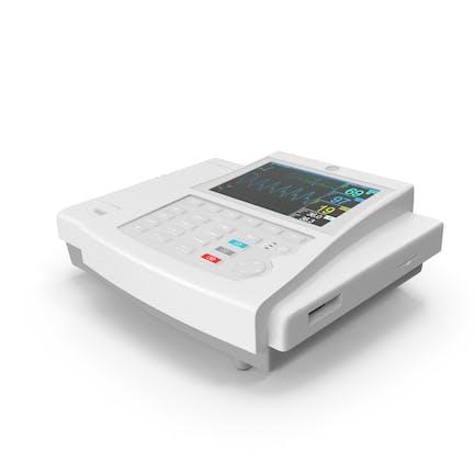 EKG-Maschine eingeschaltet