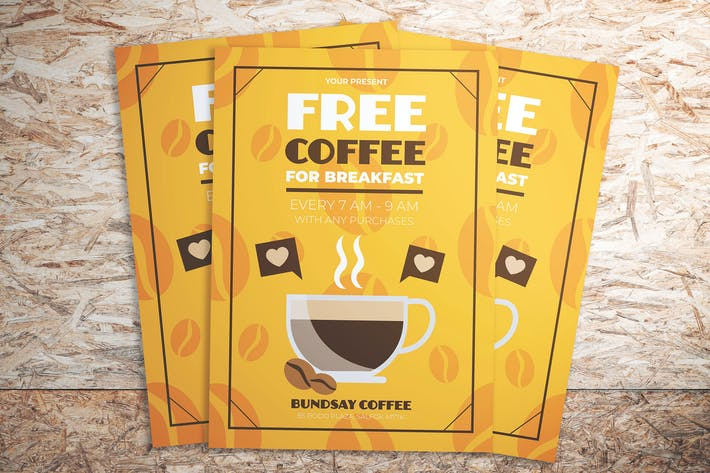 Thumbnail for Coffee Promotion Flyer