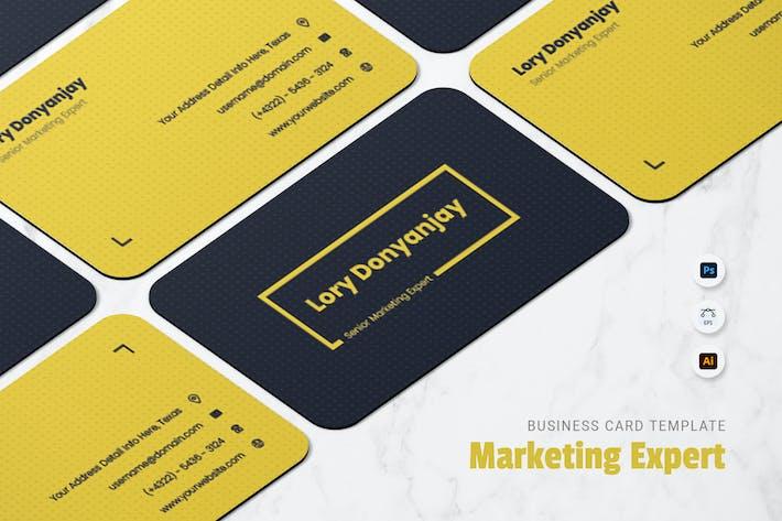 Thumbnail for Carte de visite Marketing Expert