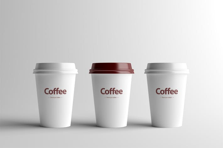 Thumbnail for Paper Coffee Cup Mock-Up - Small
